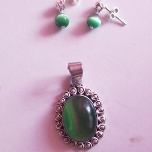 Earrings/pendant